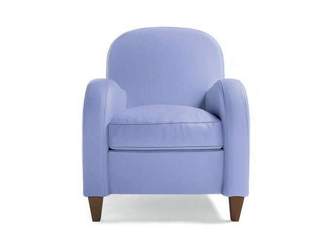 Leather armchair DAISY | Armchair by Poltrona Frau
