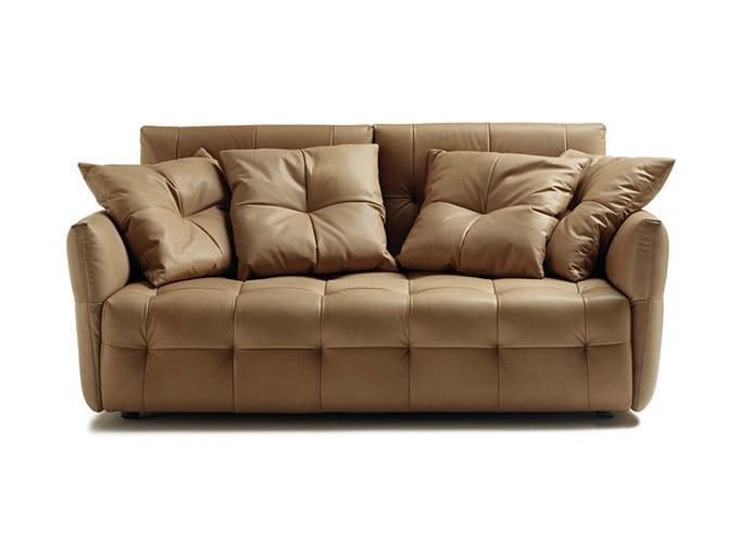 Tufted sofa DUVET   Sofa by Poltrona Frau