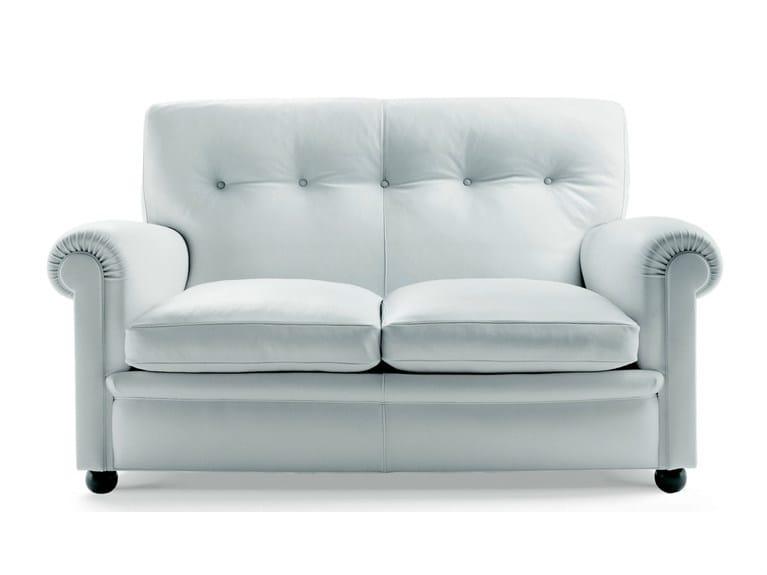 2 seater leather sofa EDOARDO | 2 seater sofa by Poltrona Frau