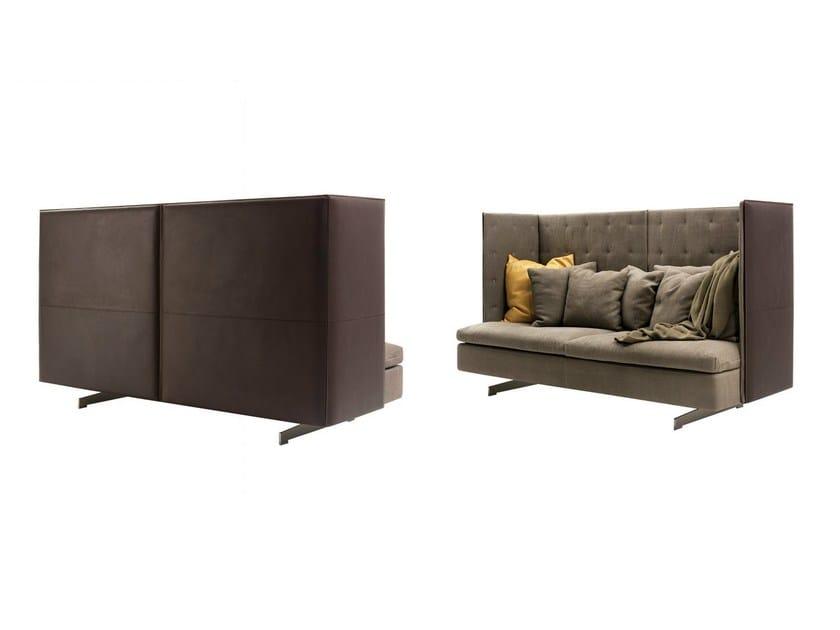 canap avec dossier haut grantorino hb by poltrona frau design jean marie massaud. Black Bedroom Furniture Sets. Home Design Ideas