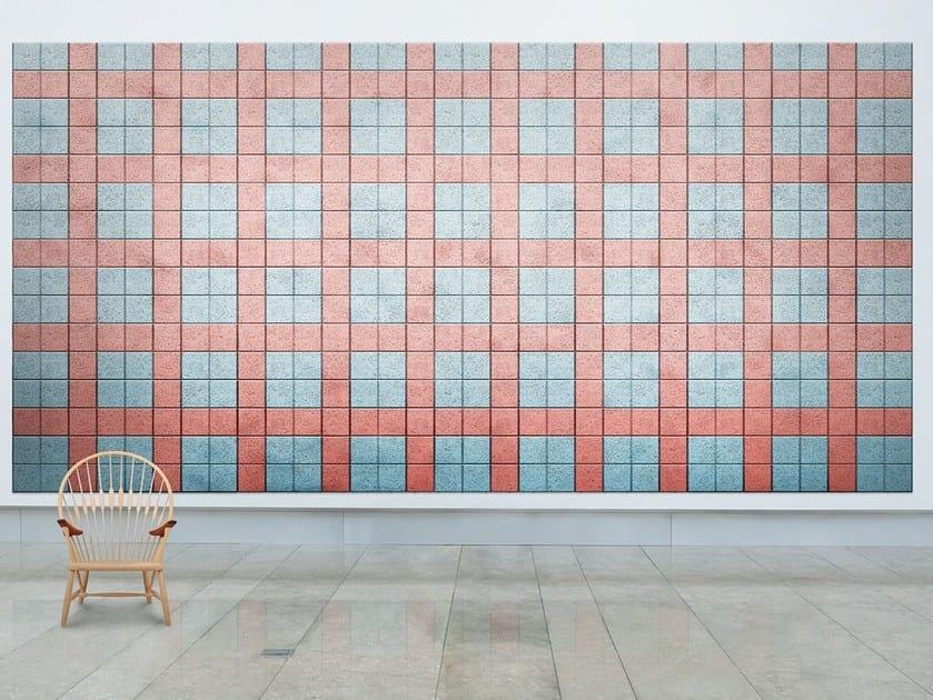Acoustic Wood Wool Tiles Baux Acoustic Tiles Square By Baux Design
