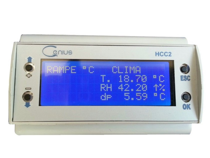 Building automation system for management automation GENIUS HCC2 by Khema Srl