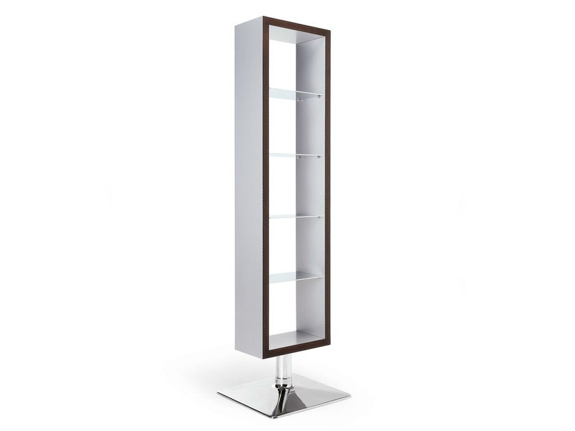 Open freestanding double-sided bookcase DISPLAY by OUTSIDER