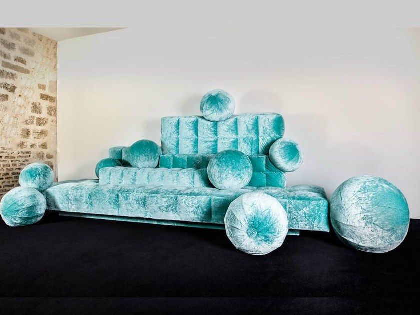 Fabric sofa AIR by MALHERBE EDITION