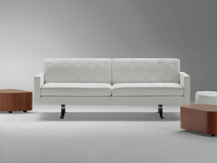 2 seater leather sofa KENNEDEE | 2 seater sofa by Poltrona Frau