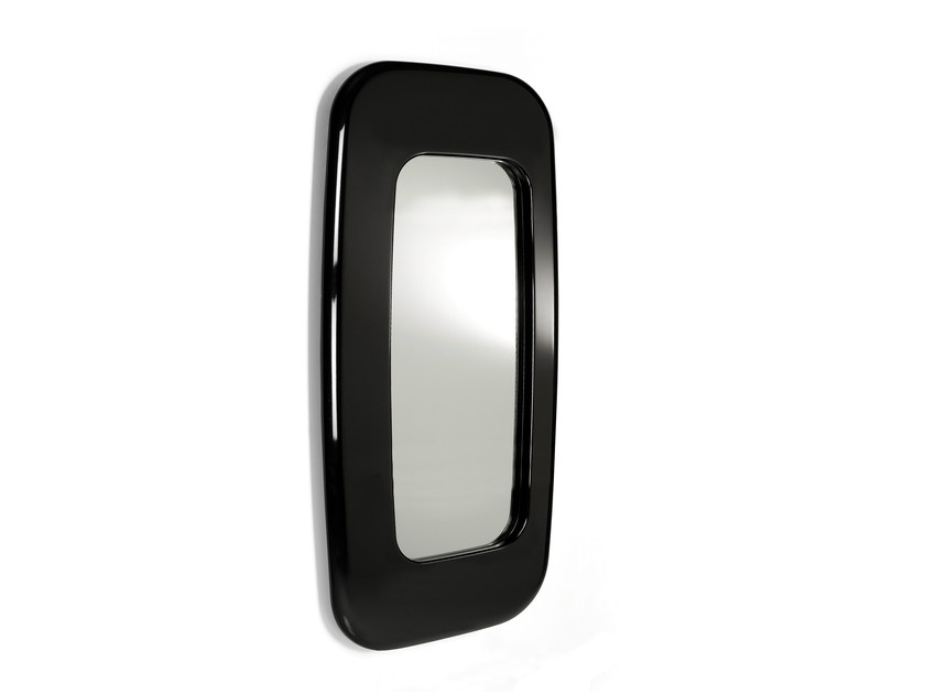 Rectangular wall-mounted framed mirror OVALE PETIT by OUTSIDER