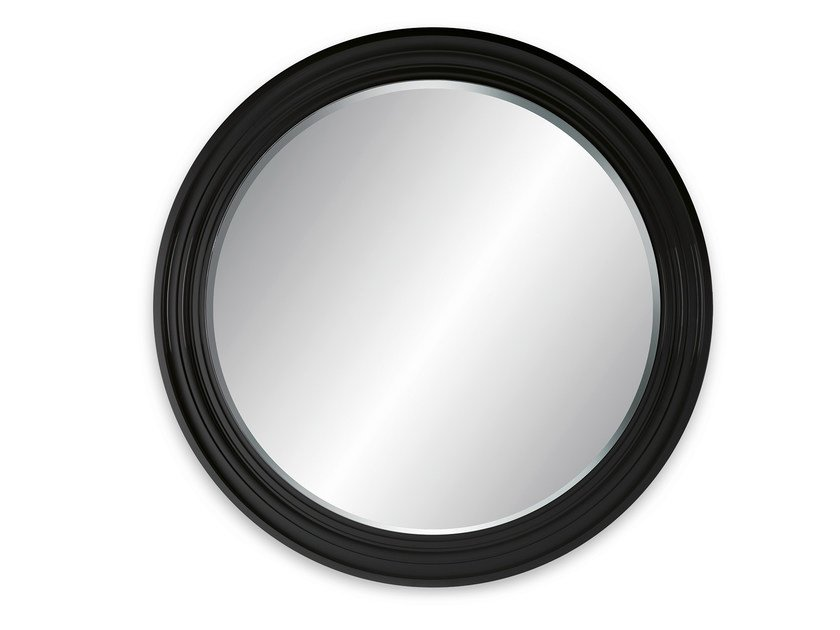 Round wall-mounted framed mirror MAGNUM WALL by OUTSIDER