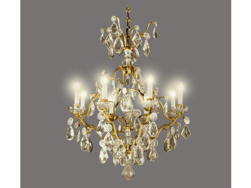 Crystal chandelier 14494 | Chandelier by Tisserant