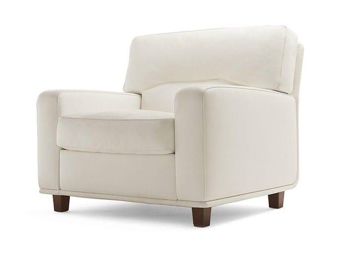 Armchair with armrests SALOMÈ by Poltrona Frau