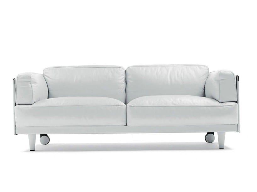 Sofa With Casters Twice By Poltrona Frau