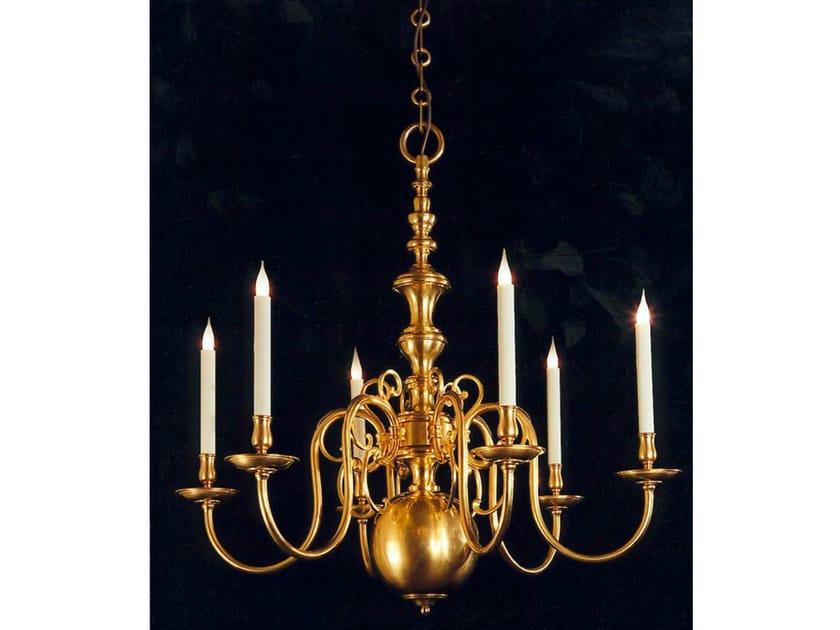 Bronze chandelier 14780 | Chandelier by Tisserant