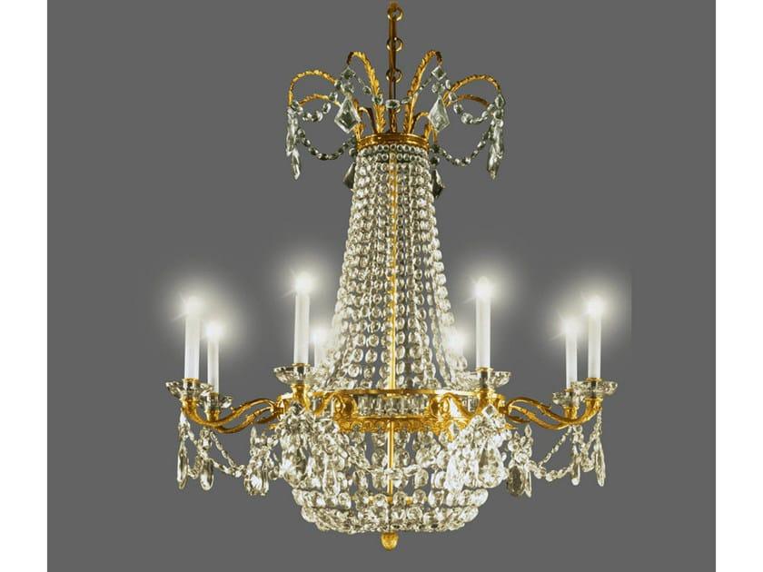 Crystal chandelier 14729 | Chandelier by Tisserant