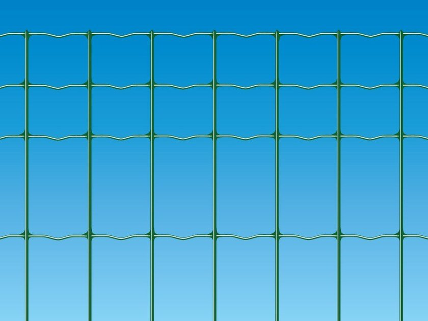 Plastic electrically welded mesh Fence EXECUTIVE PLUS by Ferro Bulloni