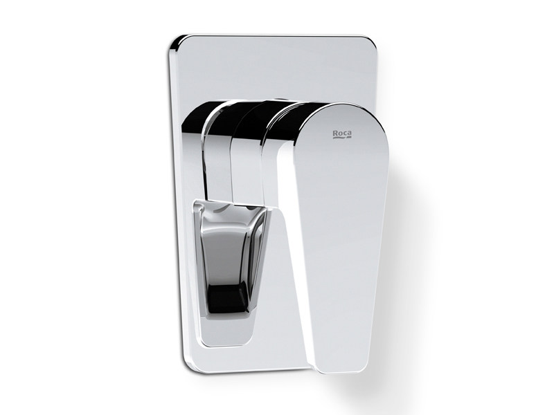 Stainless steel bathtub tap / shower tap ESMAI | 1 hole shower mixer by ROCA SANITARIO