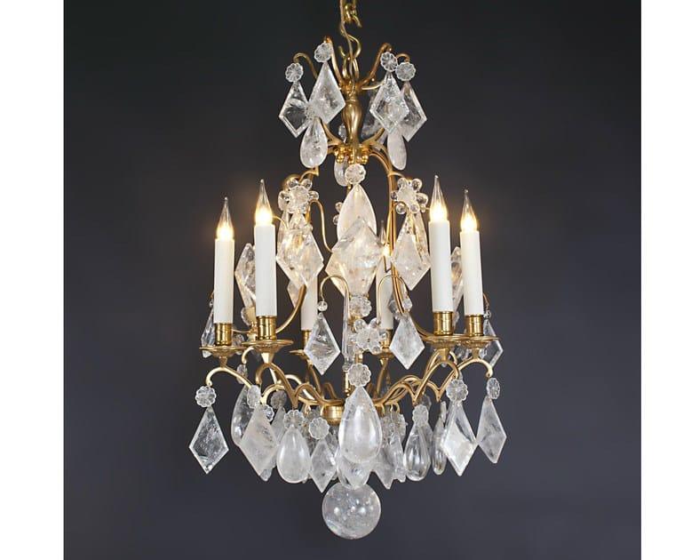 Crystal chandelier 15112 | Chandelier by Tisserant