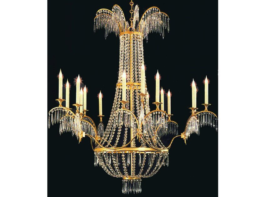 Crystal chandelier 14786 | Chandelier by Tisserant
