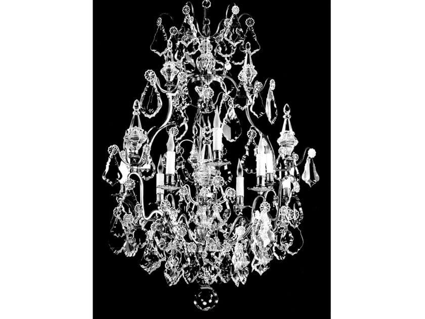 Crystal chandelier 15002 | Chandelier by Tisserant