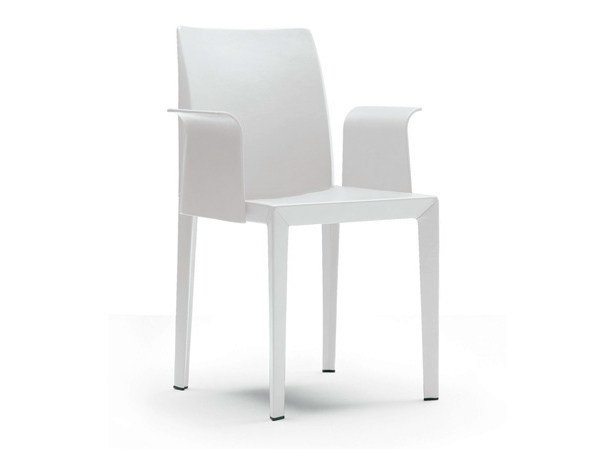 Chair with armrests LOLA | Chair with armrests by Poltrona Frau