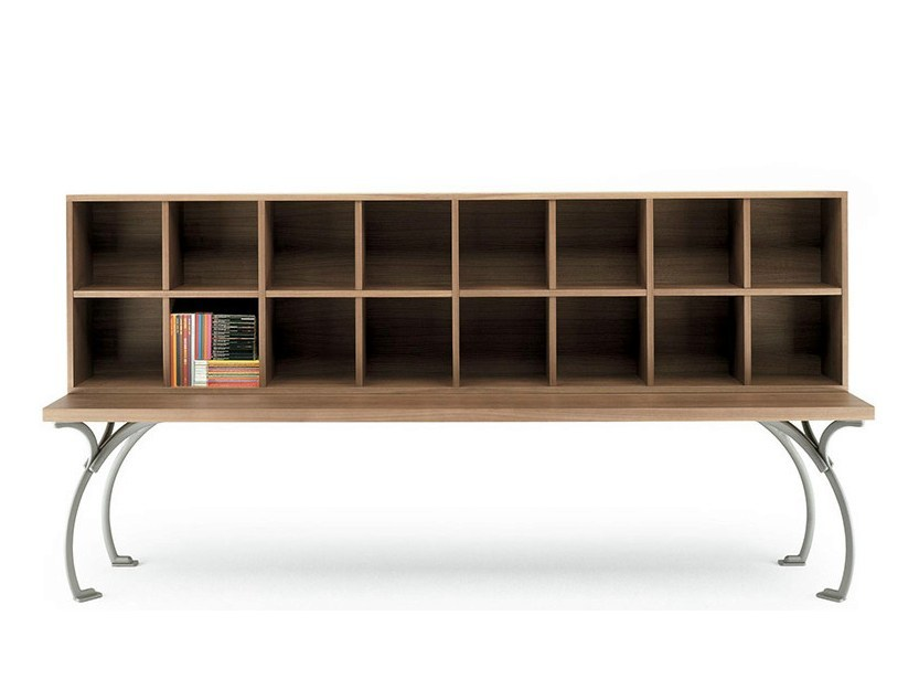 Walnut bookcase SANGIROLAMO BOOKCASE by Poltrona Frau