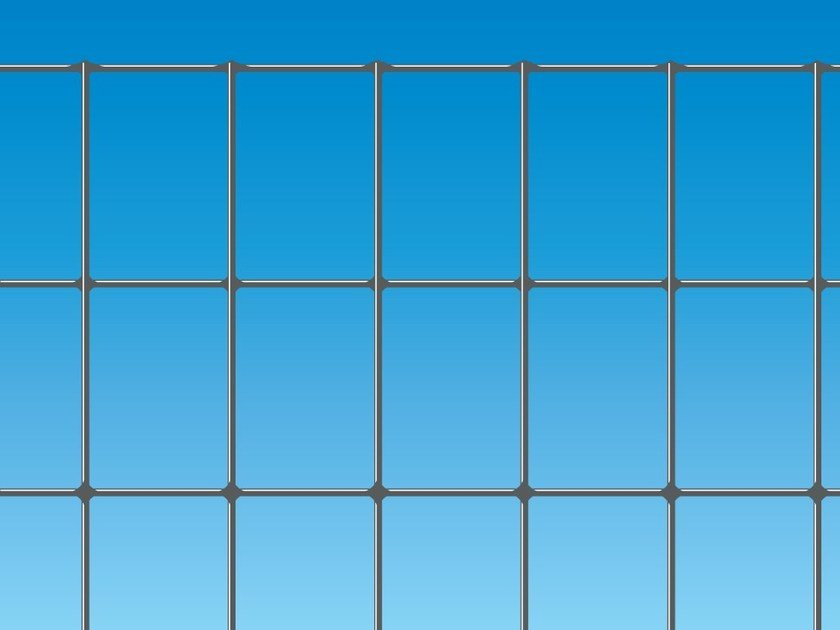 Electrically welded mesh Fence EXECUTIVE ZINC by Ferro Bulloni