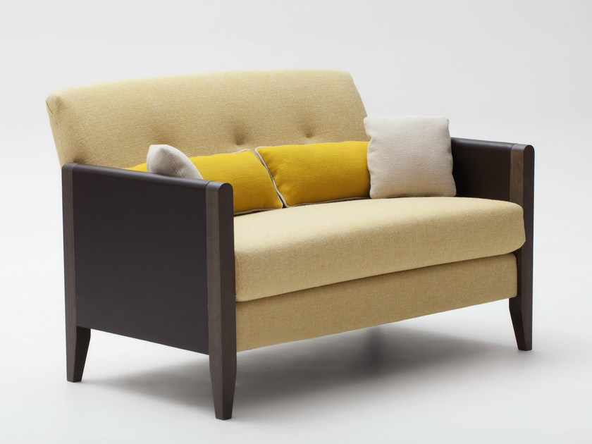 2 seater fabric sofa RESIDENT | Sofa by Adentro