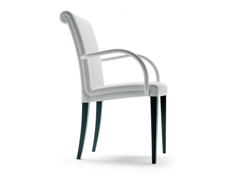 Chair with armrests VITTORIA | Chair with armrests by Poltrona Frau
