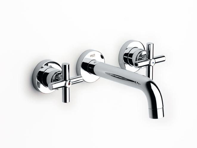 3 hole wall-mounted washbasin tap LOFT   Washbasin tap by ROCA SANITARIO