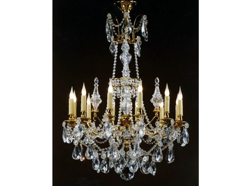 Crystal chandelier 16303 | Chandelier by Tisserant