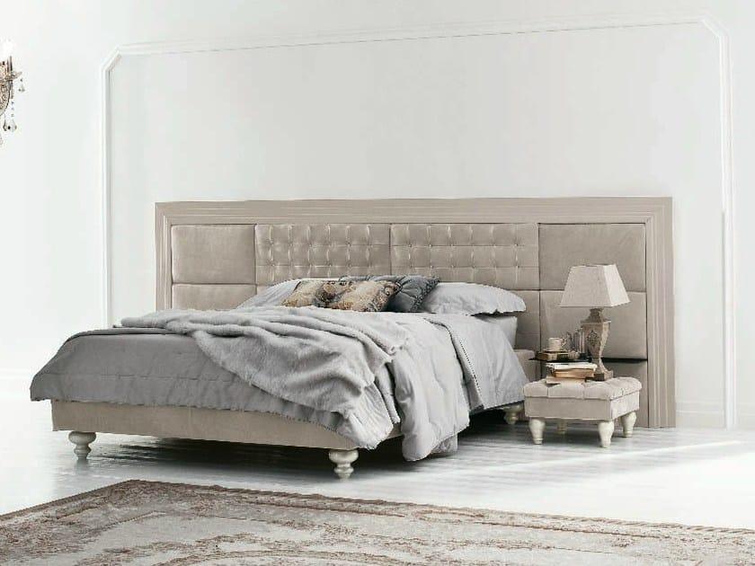 Double bed with high headboard MARLENE BOISERIE by Twils
