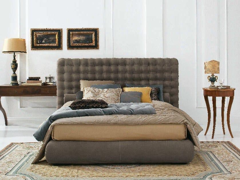 Storage bed with tufted headboard CHOCOLAT   Storage bed by Twils