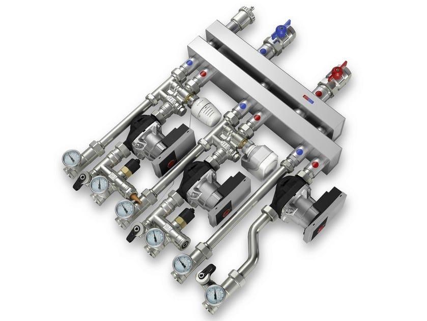 Modular boiler distribution system MULTIMIX C by IVAR