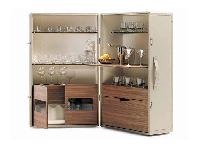 Bar cabinet ISIDORO by Poltrona Frau