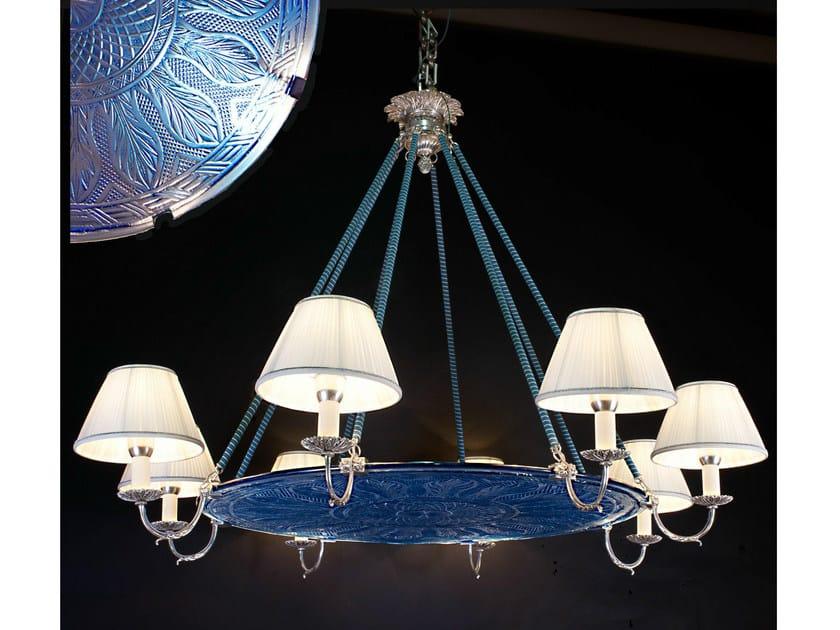 Classic style bronze chandelier 19650 | Chandelier by Tisserant