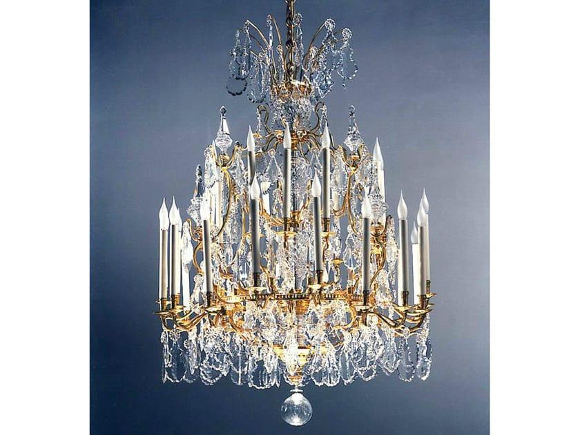 Classic style bronze chandelier 19618 | Chandelier by Tisserant