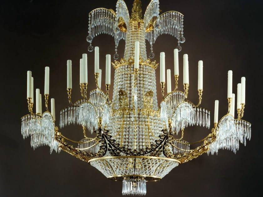 Crystal chandelier 19840 | Chandelier by Tisserant