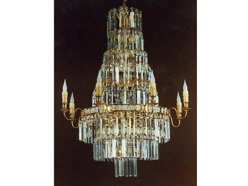 Crystal chandelier 19780 | Chandelier by Tisserant