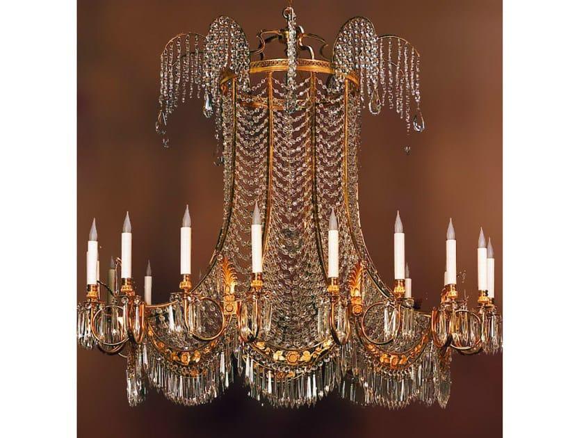 Crystal chandelier 19856   Chandelier by Tisserant