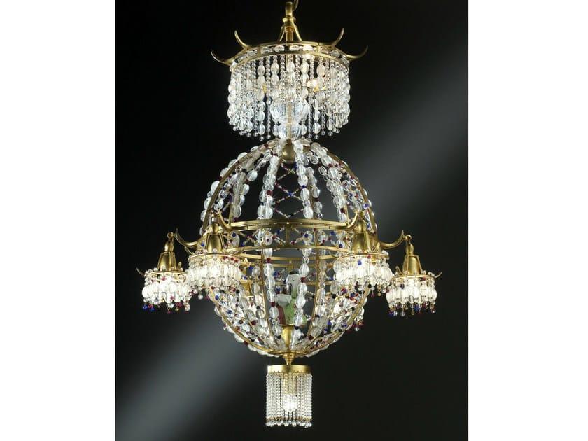 Crystal chandelier 19960 | Chandelier by Tisserant