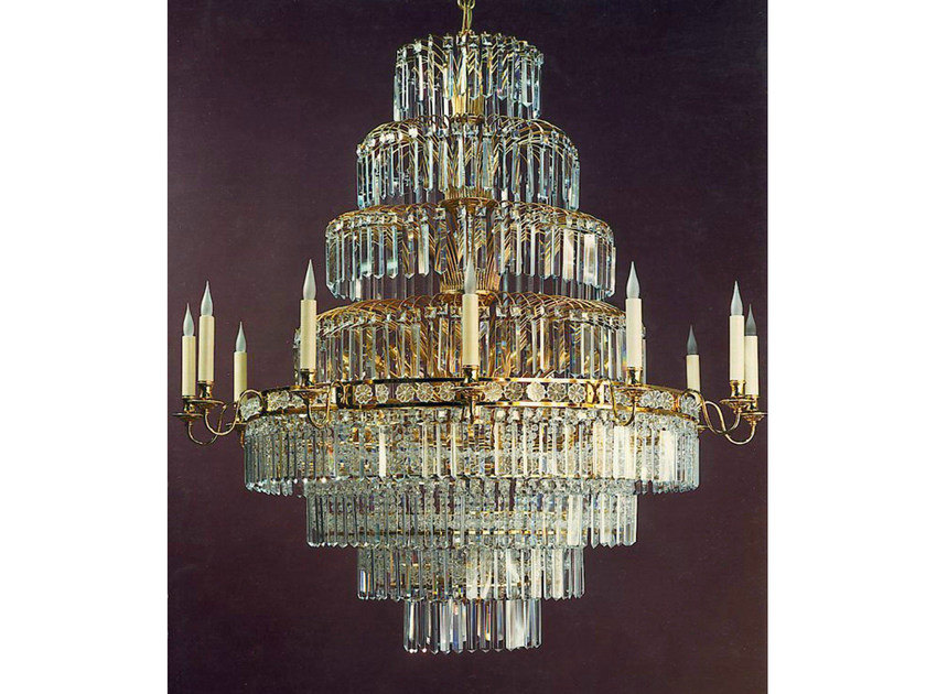 Crystal chandelier 19779 | Chandelier by Tisserant