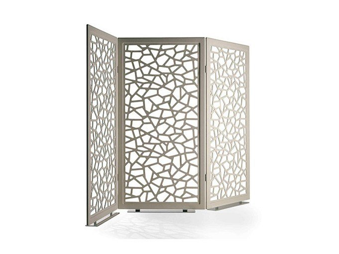Aluminium Screen MOUCHARABIEH by Poltrona Frau