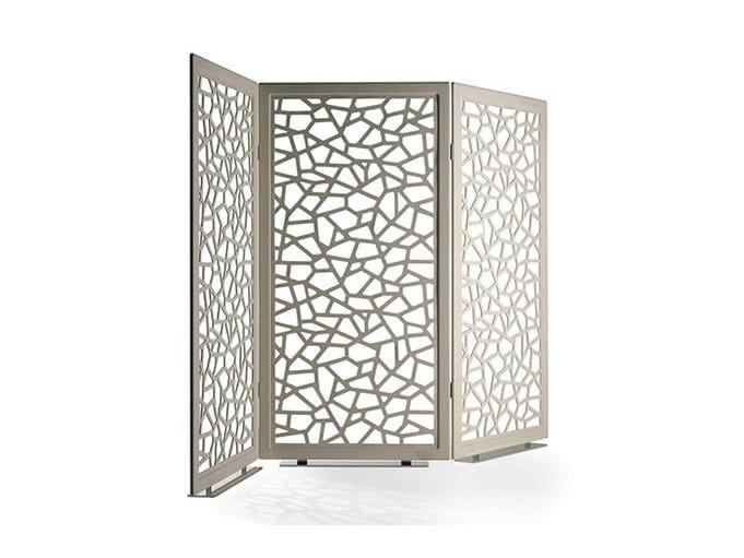 Paravent en aluminium MOUCHARABIEH by Poltrona Frau