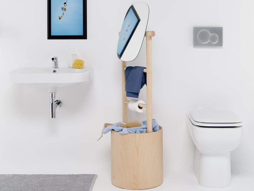 Bathroom ladder RUNG LADDER CABINET by EVER Life Design