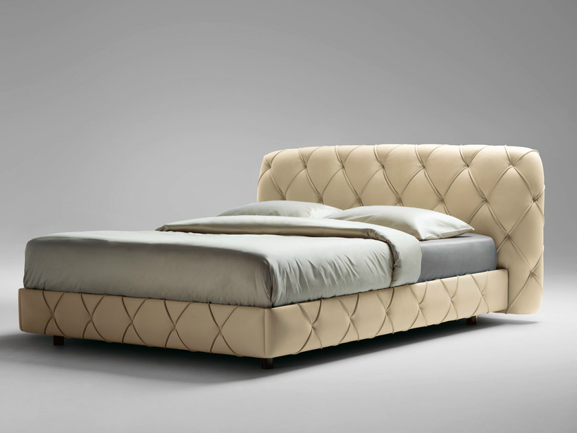 Letto matrimoniale FLAIR DELUXE By Poltrona Frau design Angeletti ...
