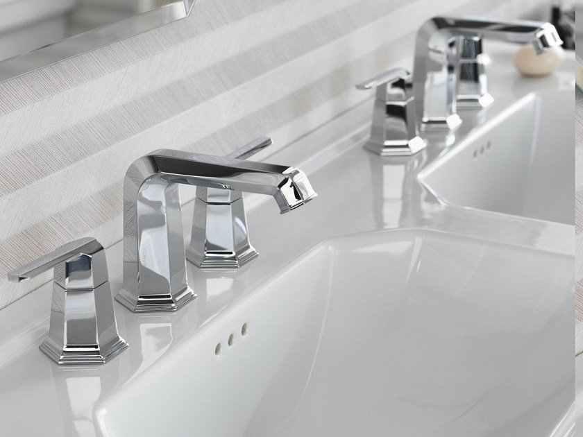 3 hole countertop washbasin tap CHELSEA | Countertop washbasin tap by Noken