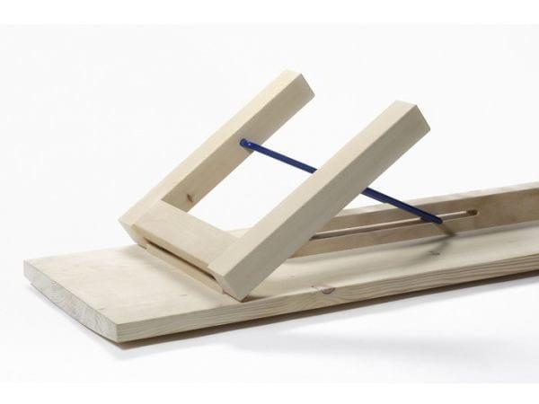 Wooden bench ARKITECTURE TJP3 | Bench by Nikari