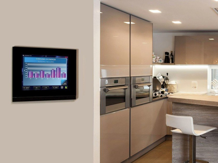 Home automation system for households DOMINAplus | Monitoring of consumption by AVE