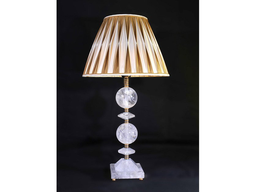 Crystal table lamp 320 | Table lamp by Tisserant