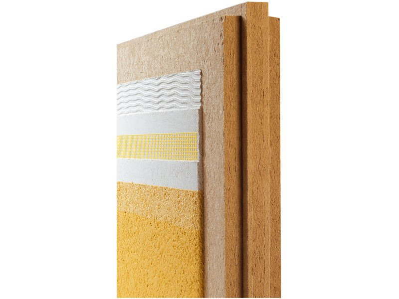 Wood fibre thermal insulation panel PAVATEX DIFFUTHERM by Pavatex