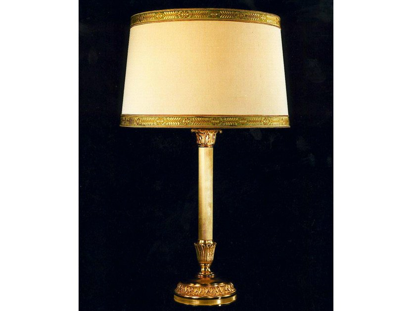 Bronze table lamp 621 | Table lamp by Tisserant