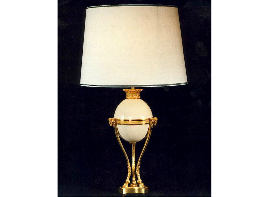 Bronze table lamp 713 | Table lamp by Tisserant